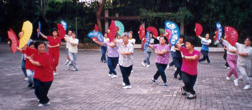 tai chi kung fu fan class in hong kong. Black Bedroom Furniture Sets. Home Design Ideas